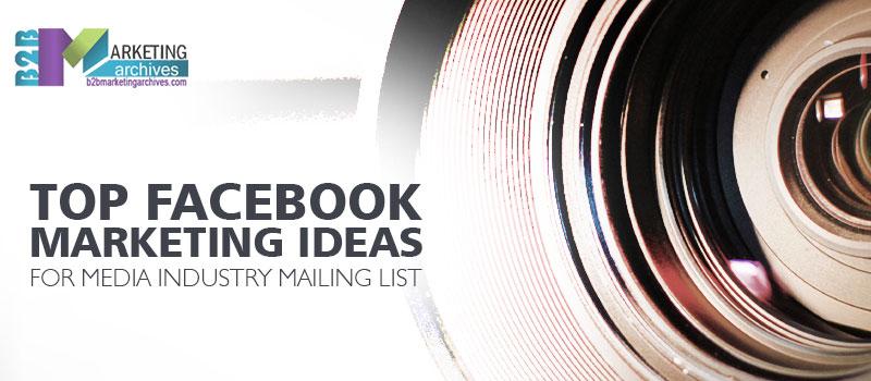 Media Industry Mailing List